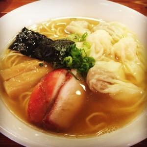 特製ワンタン麺(白だし)
