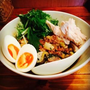 マンガリッツァ豚ときのこの和え麺