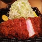 特ロース豚かつ定食