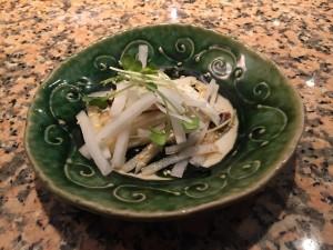 大根とゲソのサラダ